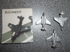 Buccaneer Jet - Fixed Wings (Pack of 3)