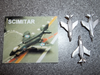 Scimitar Jet - Fixed Wings (Pack of 3)