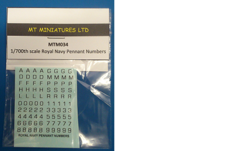 Royal Navy Pennant Numbers
